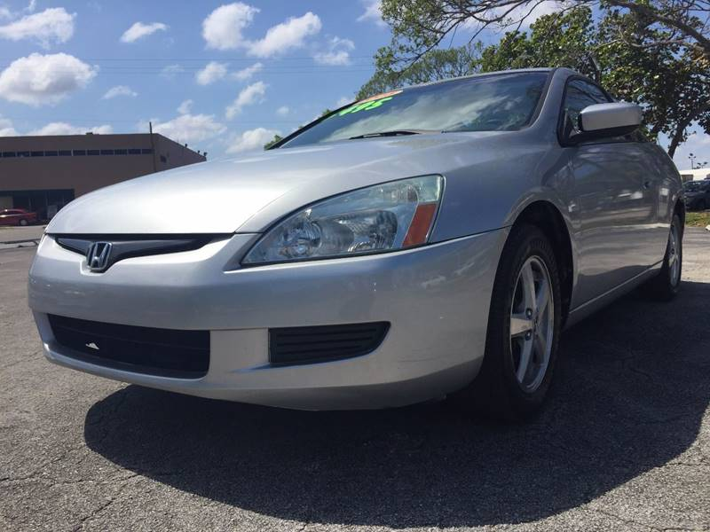 Nice 2005 Honda Accord For Sale At Cars 4 You In Hollywood FL