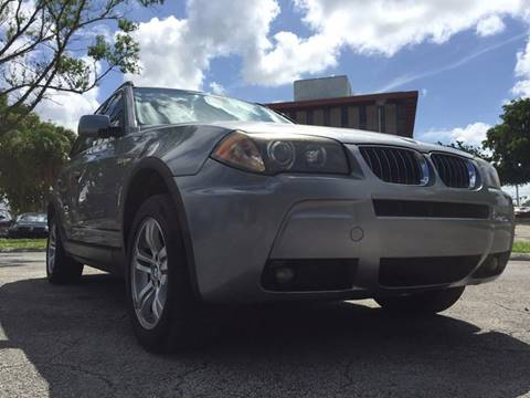 2006 BMW X3 for sale at Cars 4 You in Hollywood FL