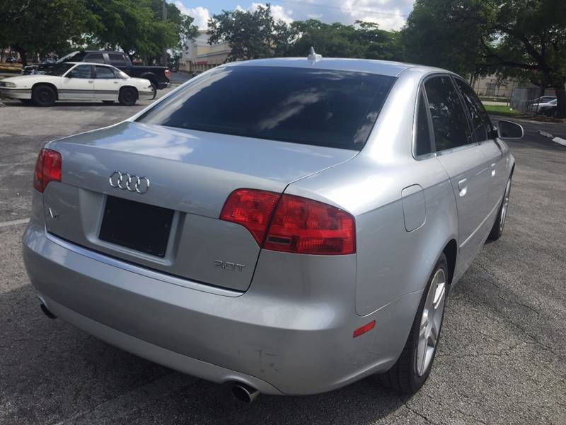 2007 Audi A4 for sale at Cars 4 You in Hollywood FL