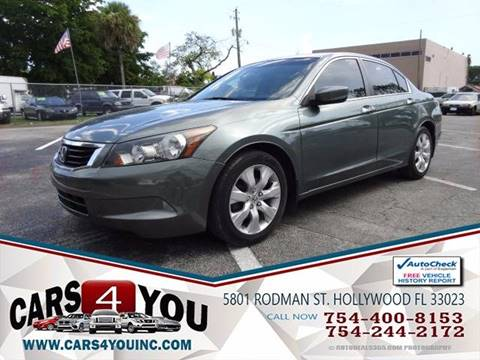 2008 honda accord for sale in florida