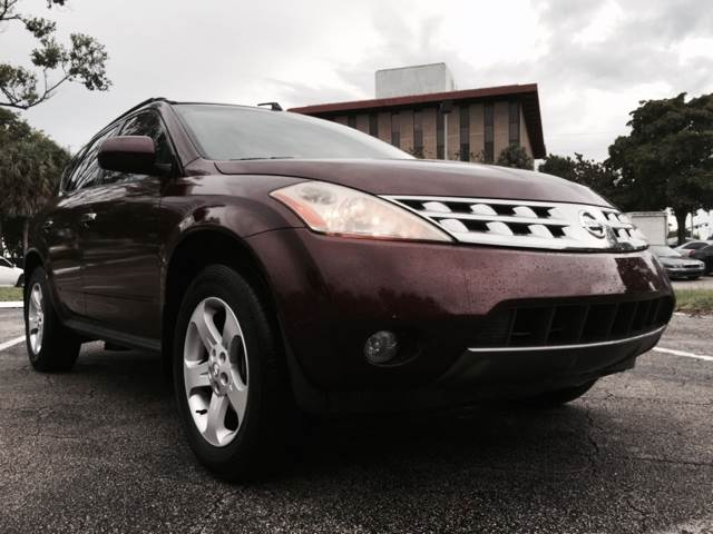 2005 Nissan Murano for sale at Cars 4 You in Hollywood FL