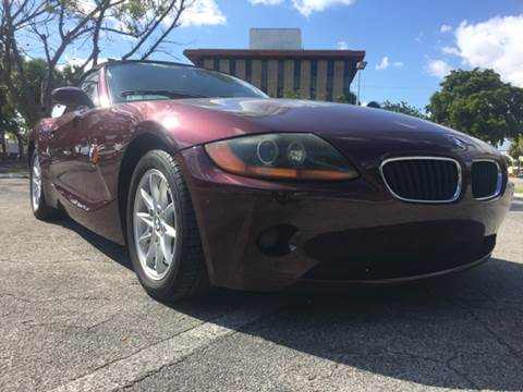 2004 BMW Z4 for sale at Cars 4 You in Hollywood FL
