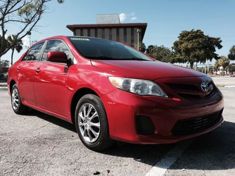 2011 Toyota Corolla for sale at Cars 4 You in Hollywood FL