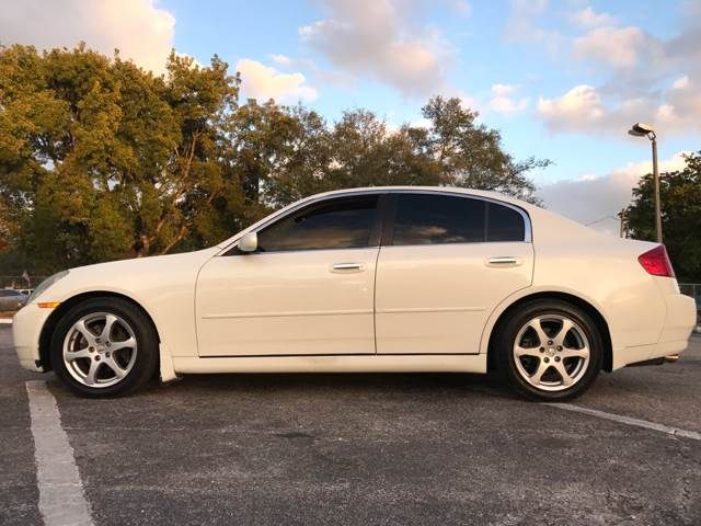 2004 Infiniti G35 for sale at Cars 4 You in Hollywood FL