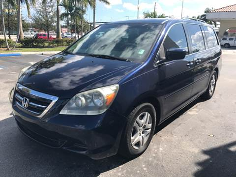 2007 Honda Odyssey for sale in Hollywood, FL