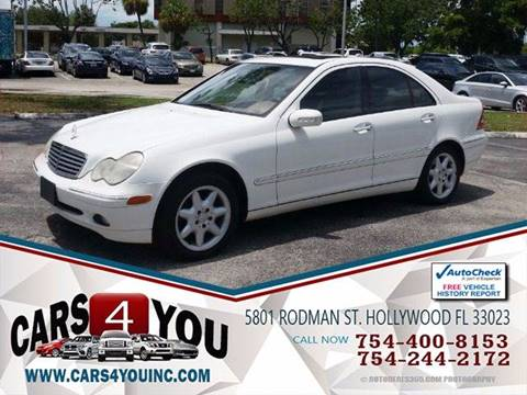 2003 Mercedes-Benz C-Class for sale in Hollywood, FL