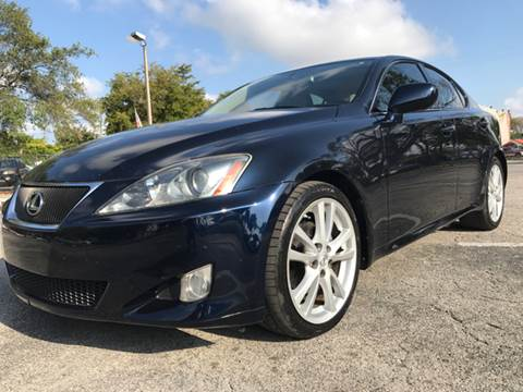 2006 Lexus IS 250 for sale in Hollywood, FL