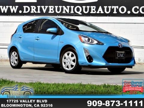 2015 Toyota Prius c for sale in Bloomington, CA