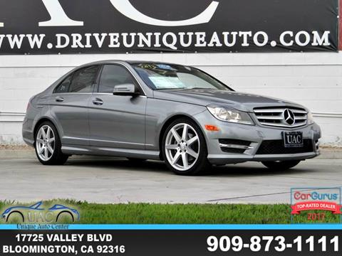 2013 Mercedes-Benz C-Class for sale in Bloomington, CA
