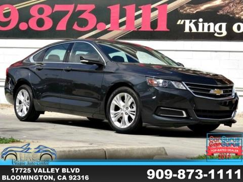 2015 Chevrolet Impala for sale in Bloomington, CA