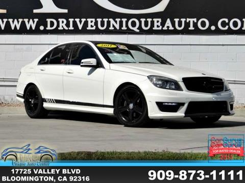 2011 Mercedes-Benz C-Class for sale in Bloomington, CA