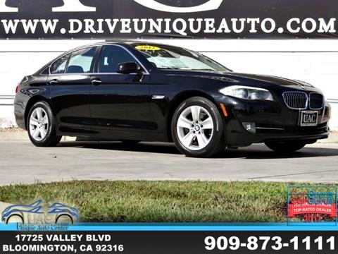 2012 BMW 5 Series for sale in Bloomington, CA