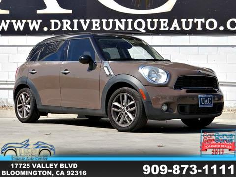 2011 MINI Cooper Countryman for sale in Bloomington, CA