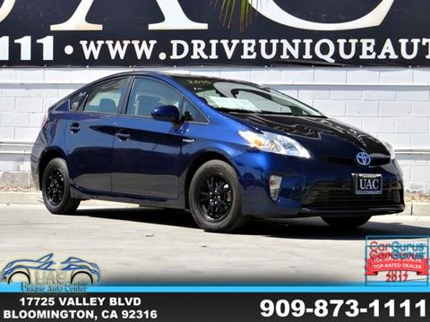 2015 Toyota Prius for sale in Bloomington, CA