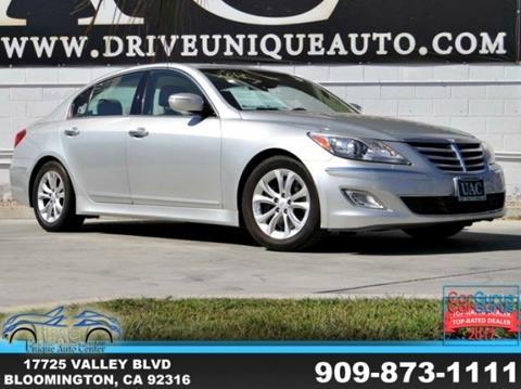 2013 Hyundai Genesis for sale in Bloomington, CA