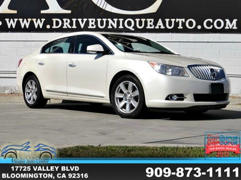 2011 Buick LaCrosse for sale in Bloomington, CA
