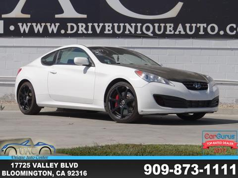2012 Hyundai Genesis Coupe for sale in Bloomington, CA