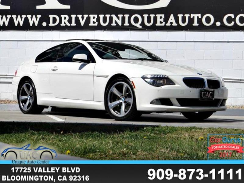 BMW 6 Series 2010 650i 2dr Coupe