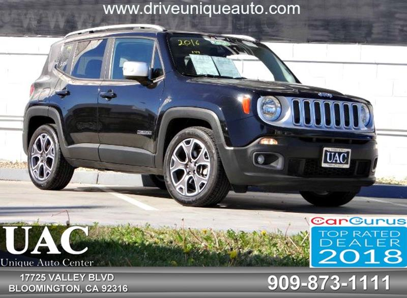 Jeep Renegade 2016 Limited 4dr SUV