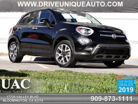 2016 FIAT 500X for sale in Bloomington, CA