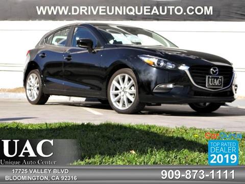 2017 Mazda MAZDA3 for sale in Bloomington, CA