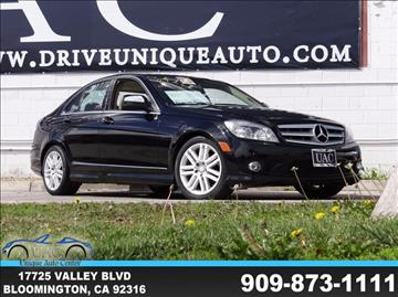 2009 Mercedes-Benz C-Class for sale in Bloomington, CA