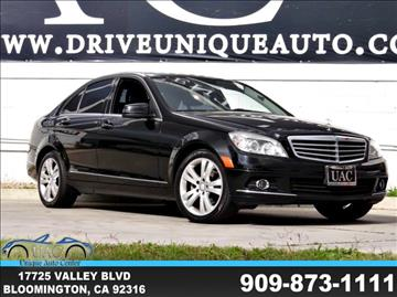 2010 Mercedes-Benz C-Class for sale in Bloomington, CA
