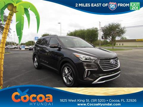 2017 Hyundai Santa Fe for sale in Cocoa, FL
