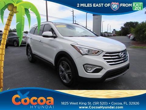 2016 Hyundai Santa Fe for sale in Cocoa, FL