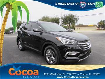 2017 Hyundai Santa Fe Sport for sale in Cocoa, FL