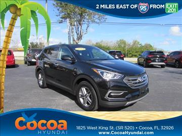 2017 Hyundai Santa Fe Sport for sale in Cocoa, FL