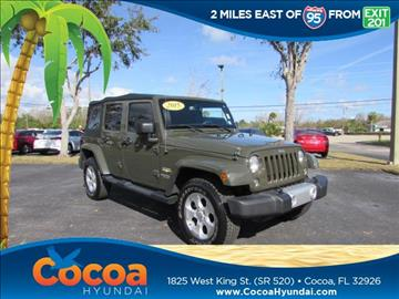2015 Jeep Wrangler Unlimited for sale in Cocoa, FL