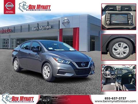 2020 Nissan Versa for sale in Salisbury, NC