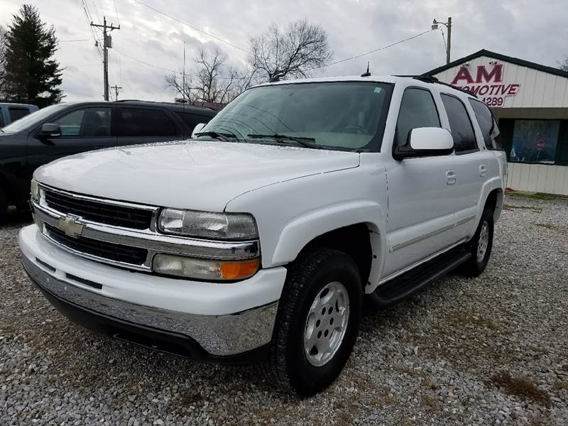 2004 Chevrolet Tahoe for sale at AM Automotive in Erin TN