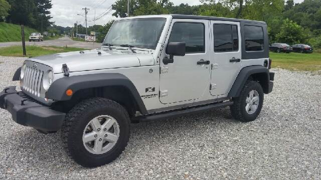 2007 Jeep Wrangler Unlimited for sale at AM Automotive in Erin TN