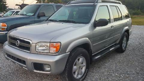 2002 Nissan Pathfinder for sale at AM Automotive in Erin TN