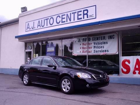 2004 Nissan Altima for sale at AJ AUTO CENTER in Covington PA