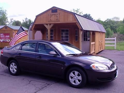 2008 Chevrolet Impala for sale at AJ AUTO CENTER in Covington PA