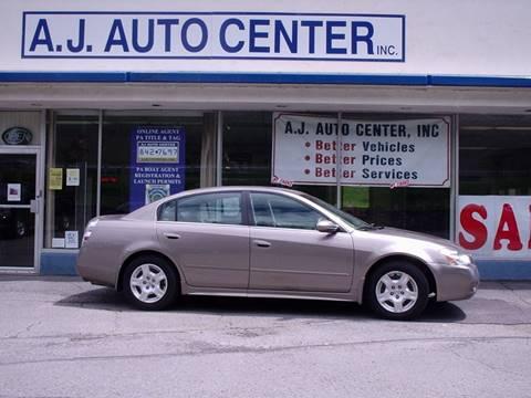 2003 Nissan Altima for sale at AJ AUTO CENTER in Covington PA