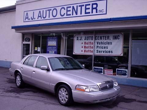 2004 Mercury Grand Marquis for sale at AJ AUTO CENTER in Covington PA