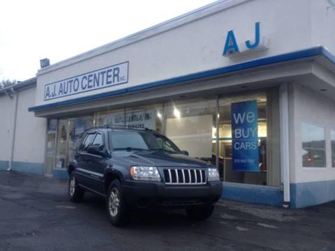 2004 Jeep Grand Cherokee for sale at AJ AUTO CENTER in Covington PA