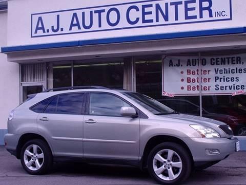 2006 Lexus RX 330 for sale at AJ AUTO CENTER in Covington PA