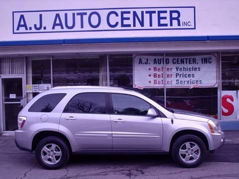 2006 Chevrolet Equinox for sale at AJ AUTO CENTER in Covington PA