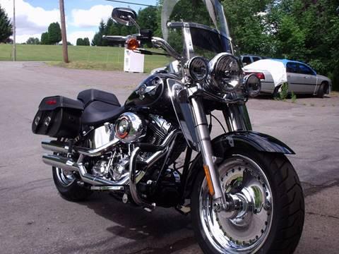 2013 Harley-Davidson FLSTF FAT BOY for sale at AJ AUTO CENTER in Covington PA