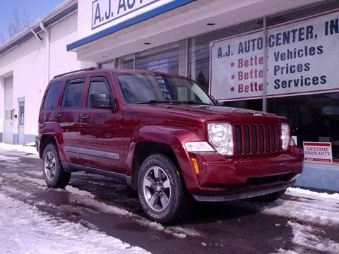 2008 Jeep Liberty for sale at AJ AUTO CENTER in Covington PA