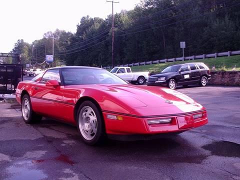 1990 Chevrolet Corvette for sale at AJ AUTO CENTER in Covington PA