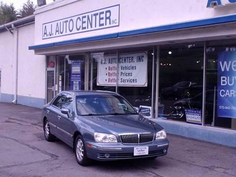 2004 Hyundai XG350 for sale at AJ AUTO CENTER in Covington PA