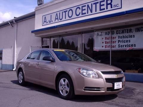 2008 Chevrolet Malibu for sale at AJ AUTO CENTER in Covington PA