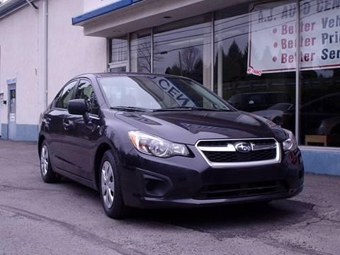 2013 Subaru Impreza for sale at AJ AUTO CENTER in Covington PA