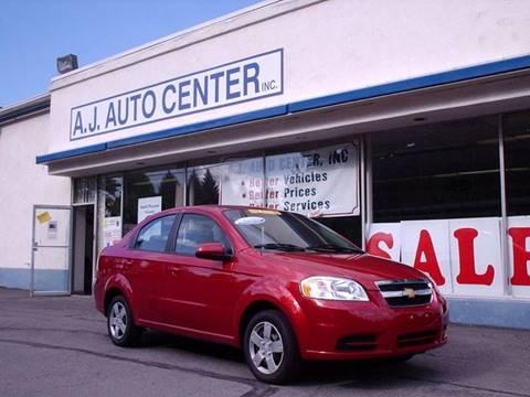 2011 Chevrolet Aveo for sale at AJ AUTO CENTER in Covington PA